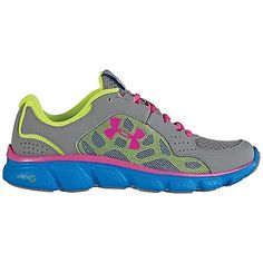Under Armour Girls UA GGS Micro G Assert IV Shoe