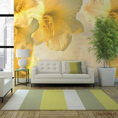 Fototapeta - Daydream Decorami.pl Decoration Design, Wall Design, Table Lamp, Lily, Lighting, Home Decor, Daydream, Kitchen Ideas, Products
