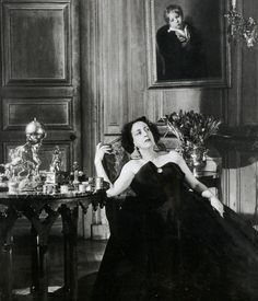 Marie-Laure de Noailles. Legendary French tastemaker, patron of the arts and muse to many artists of her time e.g. Salvador Dali, Man Ray, Jean Cocteau, Jean-Michel Frank, etc. Eccentric. Innovator. Direct descendant of the Marquis de Sade.