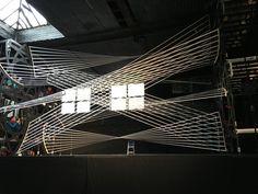 Gallery of Gabriel Calatrava Creates Interactive String Installation for the 92Y Music Festival in New York - 1