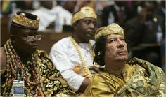Qaddafi, founder and first head of African Union Africa Necklace, Kemet Egypt, African Union, Queen Photos, African Women, Our Love, Continents, Captain Hat, Couple Photos