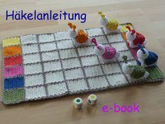 Häkelanleitung, e-book: Schnecken-Rennen made by muggel's welt via DaWanda.com