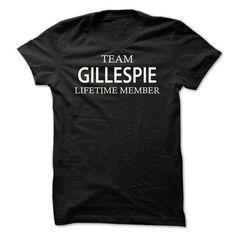 Team Gillespie - #gift bags #gift for kids. GUARANTEE => https://www.sunfrog.com/Names/Team-Gillespie-dmdkq.html?68278