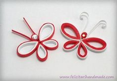 Quilling Tutorial, Quilling Craft, Paper Quilling, Diy Tutorial, Baba Marta, Butterfly Felt, Origami, 8 Martie, Diy And Crafts