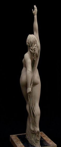 Benjamin Victor, Awakening dawn. Life size clay for bronze.