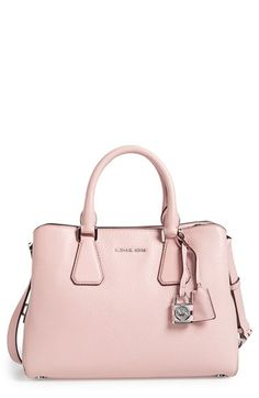 MICHAEL Michael Kors  Medium Camille  Satchel available at  Nordstrom  Michael Kors Tote 5dd9eb4dc5a16