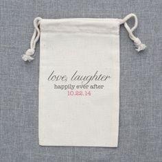 favor bags!! i really like this!