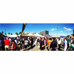 Panoramic view of the Beer, Bourbon and Barbecue event from this weekend 09/20 - #NoVAMag