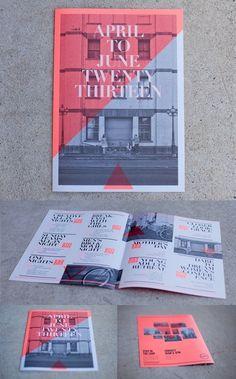 Event Calendar #a3 #red #white #a4 #calendar #& #newspaper #black #pantone #street #fluro