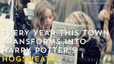 This Pennsylvania town transforms into Hogsmeade for a fall Harry Potter Festival. Yes, you need to go!