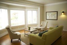 Bay window - living room