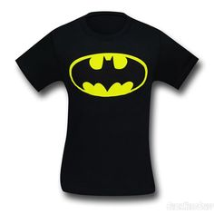 Now this is classic! Batman Traditional Symbol T-Shirt