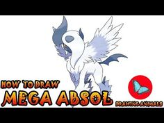 Learn How To Draw Mega Absol Pokemon ** Leave the comments for your request about the news lesson! Please help our channel grow by giving LIKES, sharing with. Pokemon Ash Greninja, Pokemon Charmander, Pokemon 20, Pokemon Cards, Draw Pokemon, Pokemon Challenge, Animal Drawings, Drawing Animals, Psychedelic Drawings