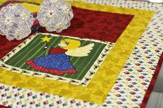 Receitas Círculo - Toalha Quadrada com Anjos