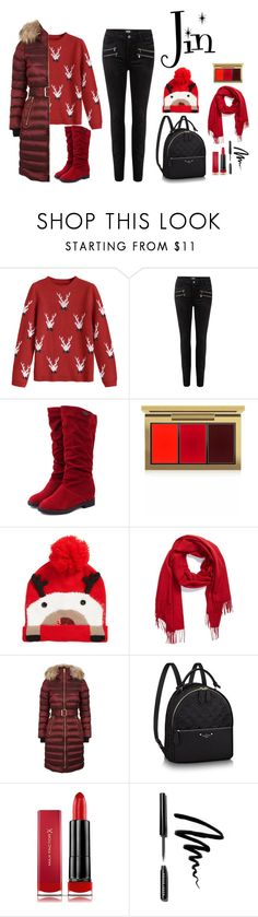 """""""New Year Jin"""" by dark-lee on Polyvore featuring мода, Paige Denim, MAC Cosmetics, Collection XIIX, Burberry, Max Factor и Bobbi Brown Cosmetics"""