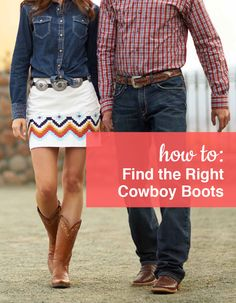 How to find the right Cowboy Boots. Shop our full collection of Cowboy Boots at ShoeBuy!