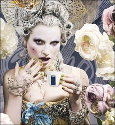marie antoinette makeup - Google Search