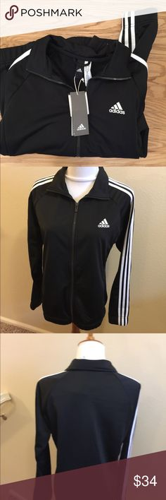 NWT Design To Move Track Jacket M A smooth jacket for cool days  Size medium adidas Jackets & Coats