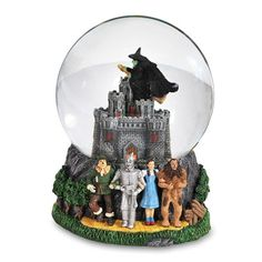 Wicked Witch Castle with Four Characters 120mm Water Globe