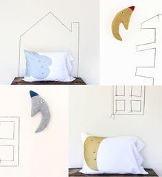 Colette bream goodnight pillows