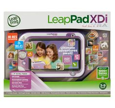 LEAPFROG - LEAPPAD ULTRA XDI. Tough. Safe. Smart. The 100% kid-perfect tablet with large, hi-res screen, Wi-Fi with kid-safe web and access to the LeapFrog educator-approved† library