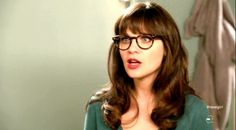 Zooey Deschanel glasses