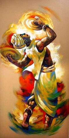 If you are already intrigued by this form of art and wish to dig deeper into it, then there is good news for you- here we have some examples of Brilliant Traditional Indian Art Paintings for you. African Art Paintings, Dance Paintings, Modern Art Paintings, Indian Folk Art, Indian Artist, Wal Art, Ganesha Painting, Painting Art, Foto Transfer