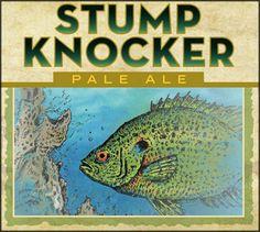 Stump Knocker Pale Ale, brewed by Swamphead