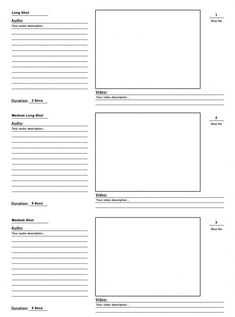 I have designed a storyboard template psd for your pre-production process. I hope you will find this storyboard template psd useful for your next project. Video Storyboard, Storyboard Template, Collage Template, Videos, Digital Storytelling, Pre Production, Free Photoshop, Screenwriting, Videography