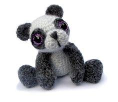 Panda Bear Amigurumi Crochet Pattern PDF Instant by PatchworkMoose, £3.00