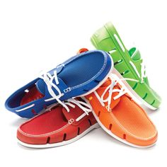 Summer's best and brightest accessory... boat shoes