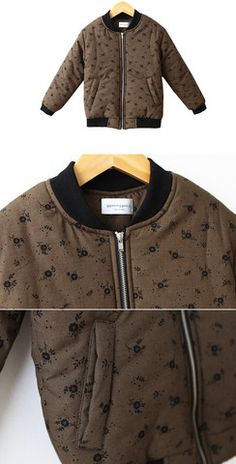 Brown Bomber Jacket for unisex at colormewhimsy 8