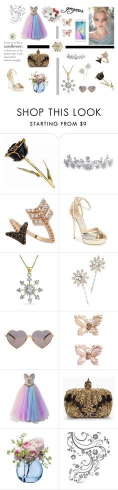 """""""yoins"""" by meladelic ❤ liked on Polyvore featuring Bling Jewelry, Bee Goddess, Jimmy Choo, Jennifer Behr, Wildfox, Samsung, Monsoon, Bob Mackie, Alexander McQueen and LSA International"""