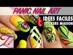 Panic Nail art : alternative à Uber Chic… fabriquez vos stickers facilement ! | Tartofraises