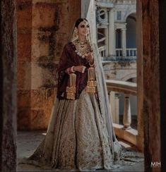 Couture Outfits, Bridal Outfits, Indian Wedding Bride, Indian Weddings, Real Weddings, Lehenga Top, Bridal Lehenga Collection, Royal Look, Looking Dapper