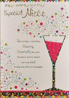 You are amazing happy birthday wishes card for niece add some niece birthday card m4hsunfo Choice Image