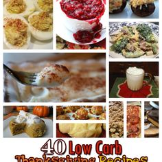 40 Low Carb Thanksgiving Recipes - The Miracle Momma