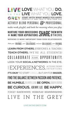 Words of wisdom @Olivia Eggers Grey #elevategeny