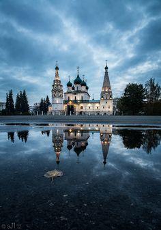 Church of the Prophet Elijah Yaroslavl city, Russia.