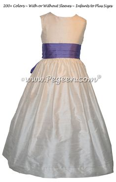 1f8d9b8ede4 The Perfect Beach Flower Girl Dresses with Added Sea Shells Style ...