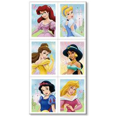 disney stikers | Disney Princess Stickers (4 sheets)