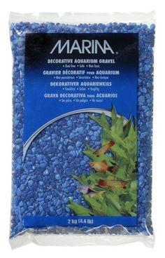 Grava Duo Tono Azul  Marina 2 kg - #FaunAnimal Crea un paisaje acuático colorido en tu acuario con la Grava Duo Tono Azu MARINA. La grava está recubierta con epoxi, lo que hace la grava inerte y evita cualquier efecto adverso sobre la química del agua.