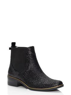 sedgewick glitter rain boots - kate spade new york