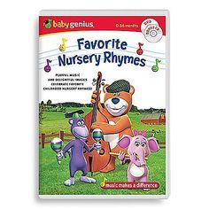 Baby Genius Favorite Characters - Bing Bing Video, Nursery Rhymes, Baseball Cards, Comics, Baby, Characters, Figurines, Preschool, Cartoons