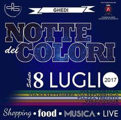 Notte dei Colori di Ghedi  http://www.panesalamina.com/2017/56699-notte-dei-colori-di-ghedi.html