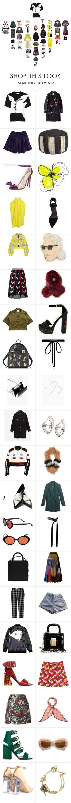 """""""Requiem"""" by duumbblond ❤ liked on Polyvore featuring Thierry Mugler, MSGM, American Apparel, Anne-Claire Petit, Jason Wu, Shourouk, Roksanda Ilincic, Alexander Wang, Yuliya Magdych and Georgia Perry"""