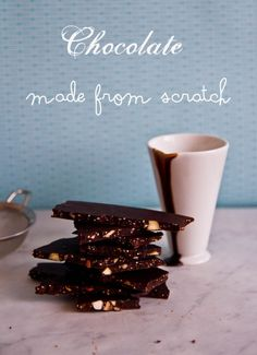 Make Your Own Dark Chocolate From Scratch!