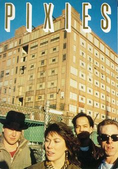 The Pixies again. Looks like the Sears building in the background.