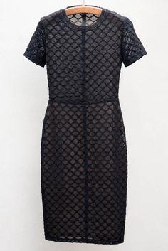 Black Cocktail Dress by Raquel Allegra