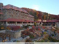 Grove Park Inn--home to Asheville's only four-diamond restaurant, Horizons